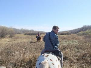 Corb On Horse